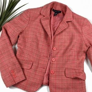 New York and Company Multicolor Blazer